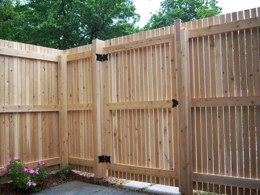 Забор для дачи своими руками фото из профнастила